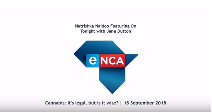 Arca Jhb Director Natrishka Naidoo, discussing the Concourt ruling on Marijuana.
